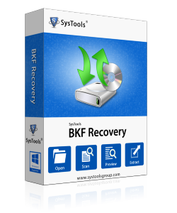 MS Backup Repair Software Box